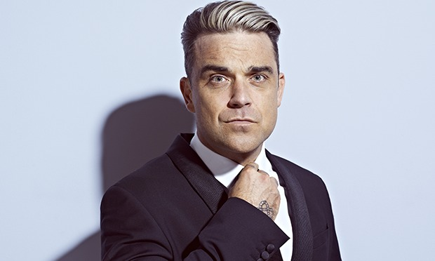 Robbie Williams Photographed by John Wright